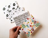 Flat Card // A2 Stationery // Paired with white envelopes // Choose single print or assorted set of 4