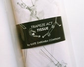 "Tissue Paper // Trapeze Act Print // Pack of 8 sheets // 20"" X 30"" sheet size // Ready to ship"
