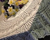 Beautiful Pineapple Crochet Tablecloth