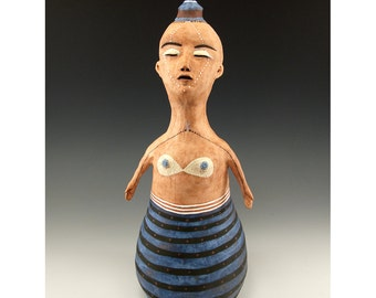 Emma - Ceramic Figure Sculpture by Jenny Mendes