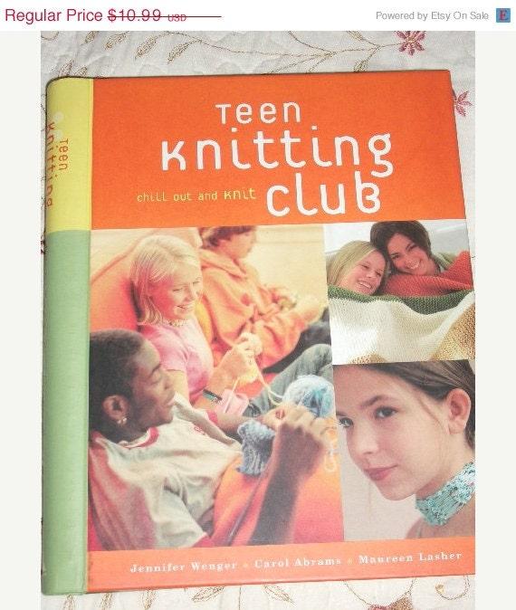 Knitting Club Book : Sale teen knitting club book easy by
