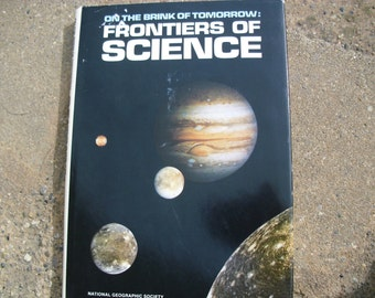 Vintage Book On The Brink Of Tomorrow Frontiers Of Science