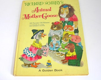 Richard Scary's Animal Mother Goose - 100 Favorite Old Rhymes