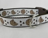 Chocolate Chip Cookie Dog Collar