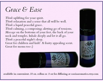 Grace and Ease Synergistic Blend .33 oz roll on ready to use aromatherapy