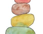 Cairn Series Art Print - Cairn 2