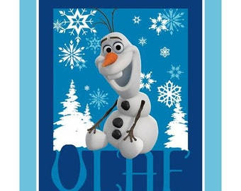 Disney Frozen Olaf Fabric Panel