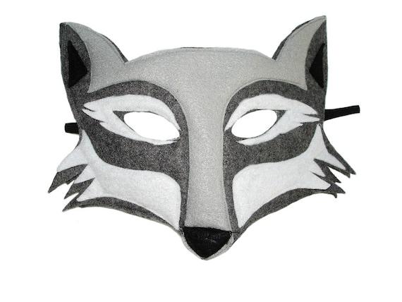 dog mask template for kids - children 39 s woodland animal wolf felt mask