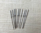 128x1 Round Shank 10 Sewing Machine Needles Size 80/12 for Jones Family CS Sewing Machines 128x3 128x21