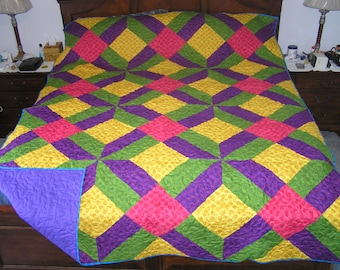 Super bright king size quilt