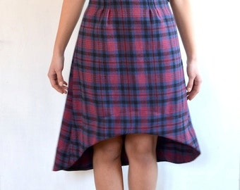 TARTAN skirt last one available!