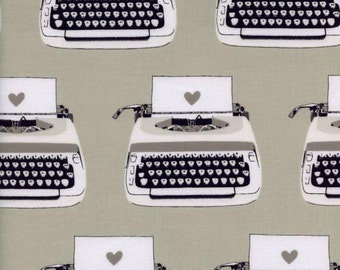 Cotton + Steel - Typewriters in Black & White