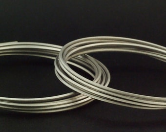 Pure SQUARE Titanium Wire - 100% Guarantee - Specific for Jewelry Applications - Surgical Grade 1 - 12, 16, 18, 20 gauge