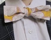 Mr Skinny Tree Ring Bow Tie
