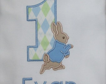 Peter Rabbit Birthday Shirt Peter Rabbit Birthday Shirt Bunny Shirt