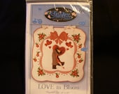 Love in Bloom Quilted Wall Hanging Pattern - New - Never used