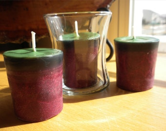 Sweet Red Wine Palm Wax Votive