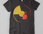 Nina Simone - Men's T-Shirt - Red and Yellow Ochre on Black (Griot Apparel)