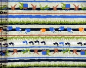 Kids Cotton Knit Fabric - Bugs Insects Nature Fabric - Infants Toddler Childrens cotton knit fabric by the yard - The Fabric Zoo