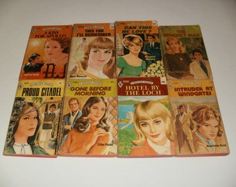 Vintage Harlequin Romance Books from 1969 to 1975 - Paperback Books, Retro, Collectibles