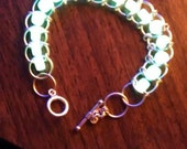 Glow 'N' The Dark Artisan Chainmaille Bracelet