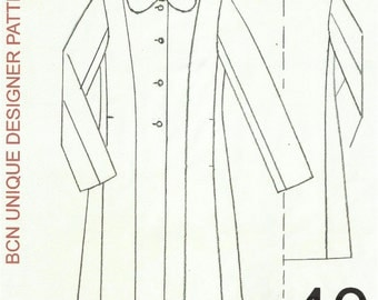 CASSOCK coat pattern. SIZE 40.-