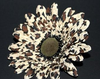 Animal Print Daisy - Arificial Flowers, Silk flowers