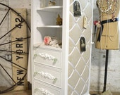 Painted Cottage Chic Shabby Romantic French Armoire LGDC04