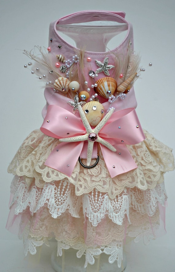 Dog Bridal Dress