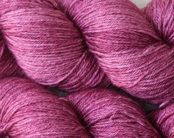 Sub Rosa - Lotus BFL/Silk hand dyed sock yarn - 100g