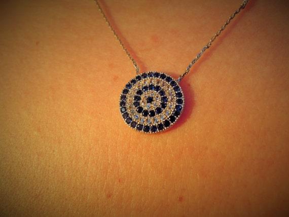 Turkish Evil eye necklace, evil eye jewelry, lucky ...