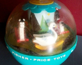 Vintage Fisher Price Chime Ball