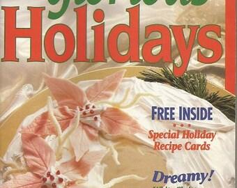 "1992 Betty Crocker ""Glorious Holidays' Cookbook"