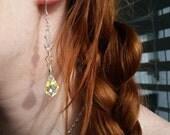 Crystal Drop Earrings, Crystal Earrings, Swarovski Crystal Earrings, Summer Earrings, Sorority Earrings, Bridesmaid Earrings, Bride Earrings
