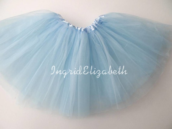light blue tutu ballet skirt fast shipping by