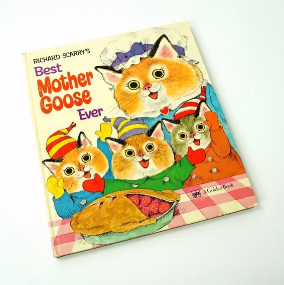 Vintage 1970s Childrens Book / Richard Scarry's Best