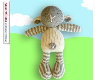 Little Lamb, toy knitting pattern
