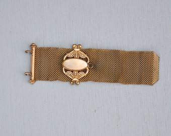 Antique Victorian GF Mesh Watch Fob - As Is
