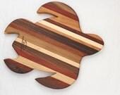 Turtle Cutting Board - Handmade