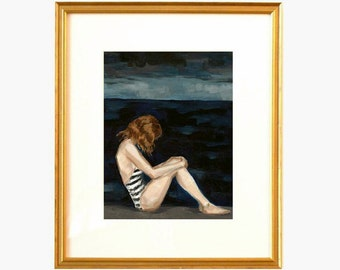 Dark Seas . giclee art print