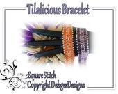 Tilalicious Bracelet - Tila Beading Pattern Tutorial