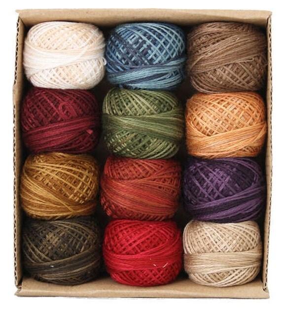Valdani 3 Strand Cotton Floss Embroidery Punchneedle Thread