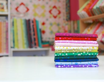 ON SALE Lizzy House Butterflies Half Yard Bundle - Basics Bundle (Full Collection 11 HYs) Andover Fabrics