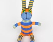 Handmade Sock Rabbit Bunny Stuffed Animal Doll Baby Toys easter gift Children New Year Gift