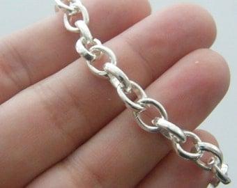 1 Bracelet 20cm silver plated