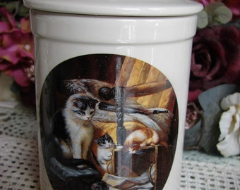 Kitty Treat Jar!