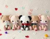 GIFT of the DAY - Li'l Sweetheart Bear pdf Pattern