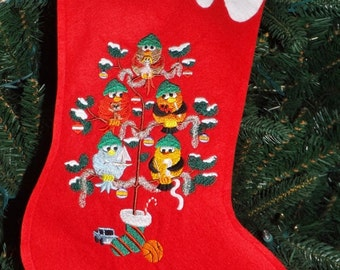 Felt Christmas stocking 2pack