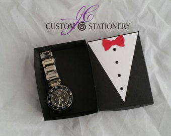 Tuxedo Gift Box and tag