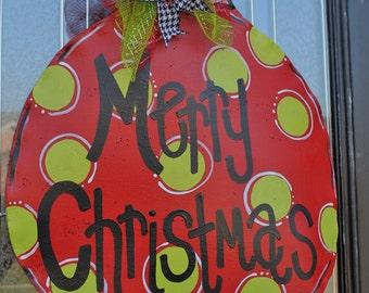 Large Ornament Door Hanger